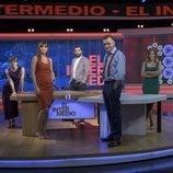 'El intermedio' y su equipo de la temporada 2020-2021