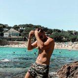 Tom Brusse, de 'La isla de las tentaciones 2', sin camiseta