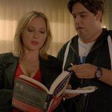 Pilar Castro y Carlos González, en la segunda temporada de 'Señoras del (h)AMPA'