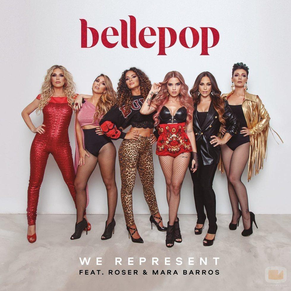 """Portada de """"We represent"""", single de Bellepop, Roser y Mara Barros"""