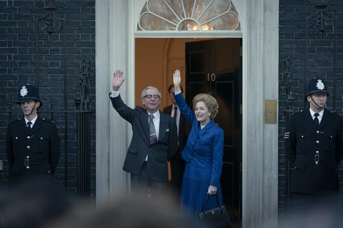 Gillian Anderson es Margaret Thatcher en la temporada 4 de 'The Crown'
