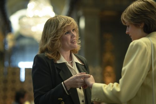 Diana de Gales y Camilla Parker Bowles se encuentran en la temporada 4 de 'The Crown'