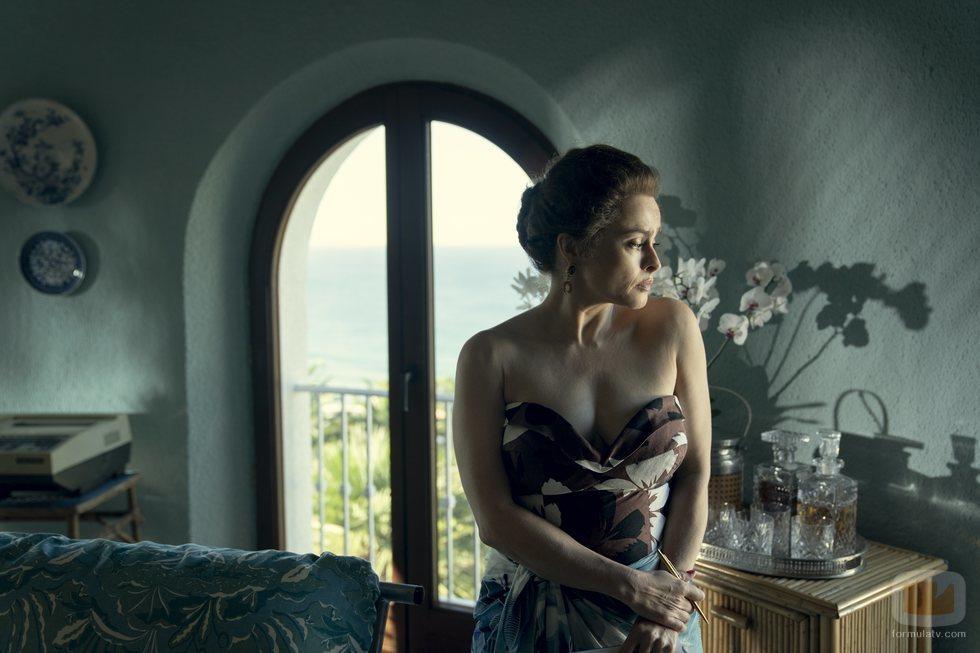 La Princesa Margarita (Helena Bonham Carter) en la temporada 4 de 'The Crown'