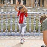 """Soleá rueda en Sevilla el videoclip de """"Palante"""", su tema para Eurovisión Junior 2020"""