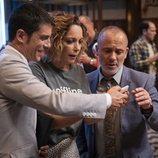 El Enlace, Laura y Márquez, en la cuarta temporada de 'Estoy vivo'