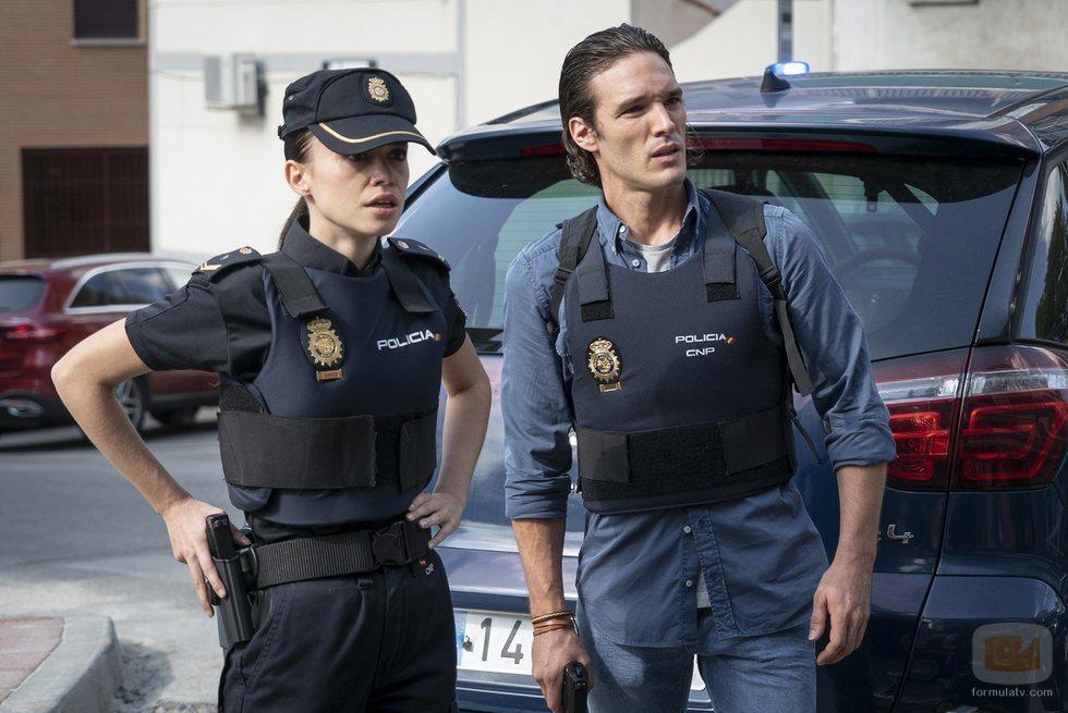 Adriana y Mikel en la cuarta temporada de 'Estoy vivo'