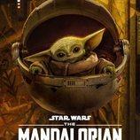 Póster de la temporada 2 de 'The Mandalorian' con Baby Yoda