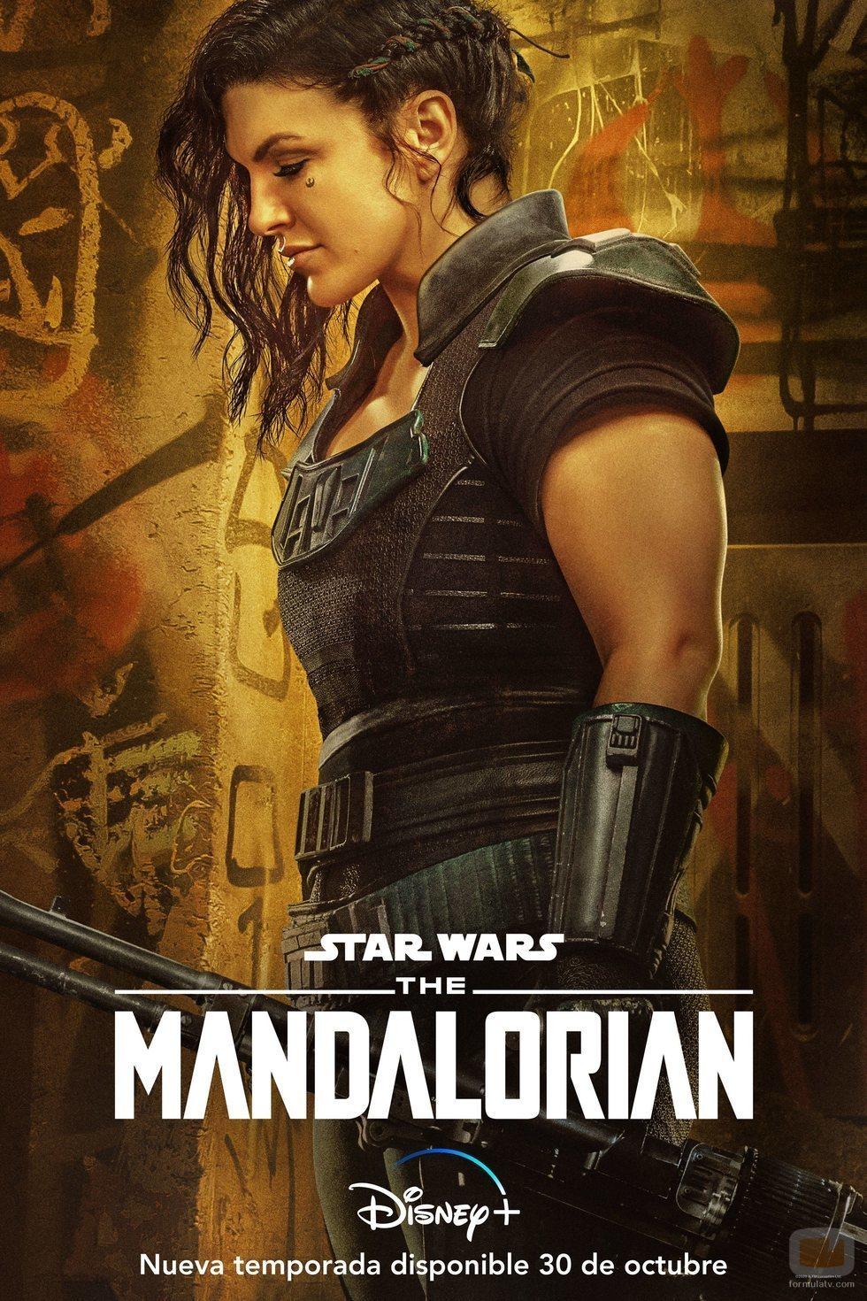 Póster de 'The Mandalorian' (Temporada 2) con Cara Dune