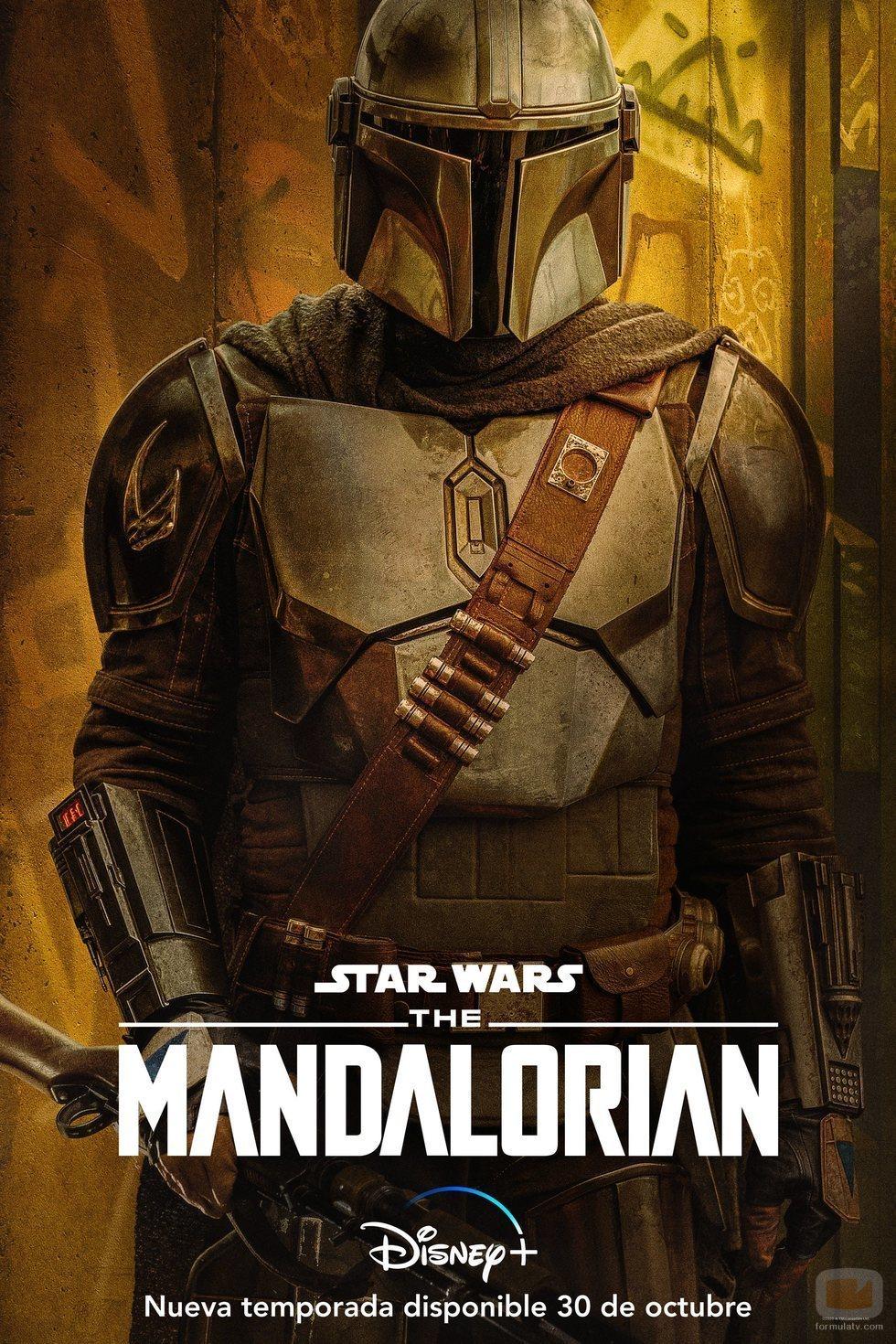 Cartel de 'The Mandalorian' (Temporada 2) con Mando
