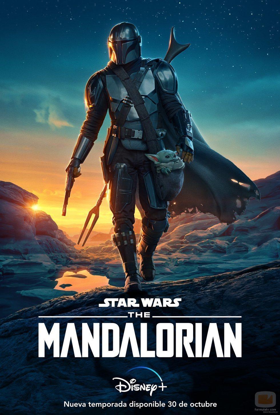Póster oficial de la temporada 2 de 'The Mandalorian'