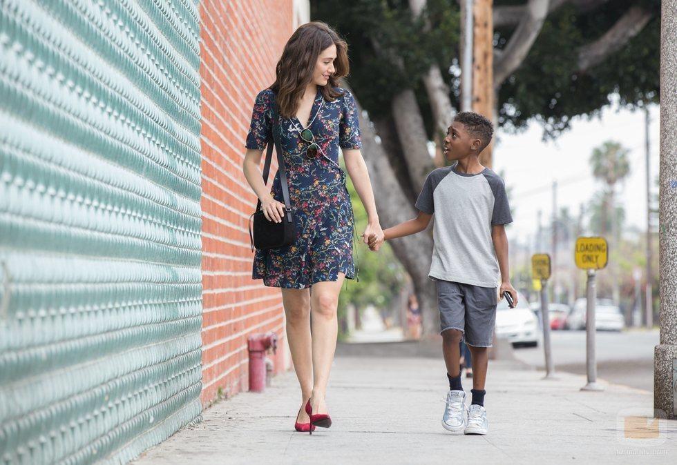 Emmy Rossum y Christian Isaiah en 'Shameless'