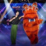 Javier Calvo y el Monstruo, en 'Mask Singer: adivina quién canta'