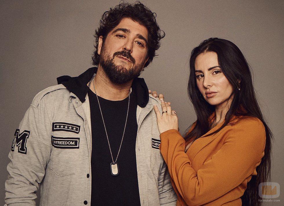 Antonio Orozco y Mala Rodríguez en 'La Voz 2020'