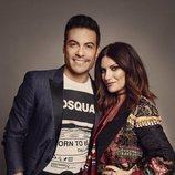 Laura Pausini y Carlos Rivera se reunen en 'La Voz 2020'
