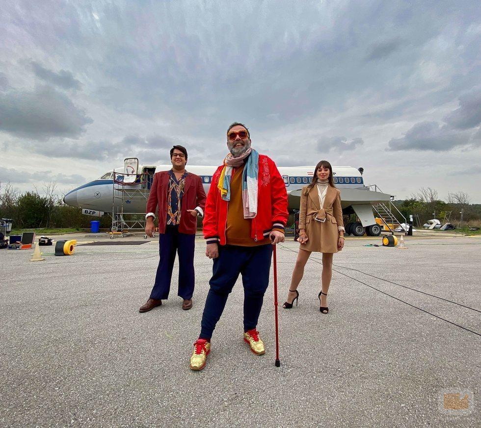 Bob Pop y Carlos González en 'Maricón perdido'