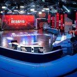 Plató de 'El desafío', programa de Antena 3