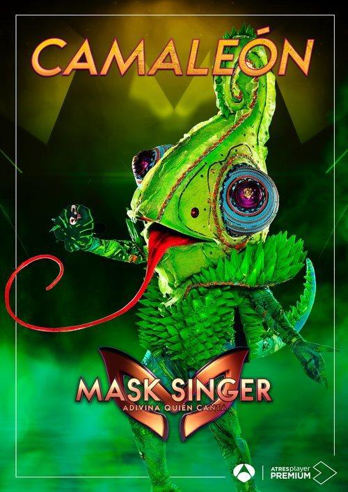 La máscara de Camaleón en 'Mask singer: adivina quien canta'