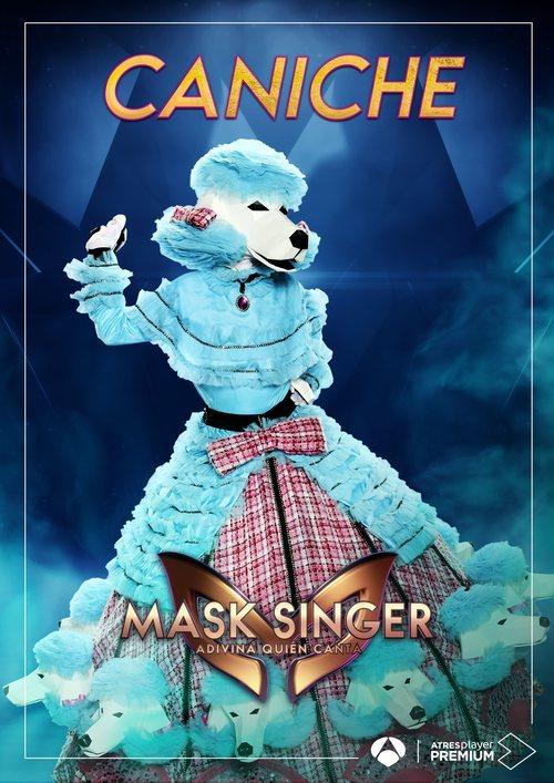La máscara de Caniche en 'Mask singer: adivina quien canta'