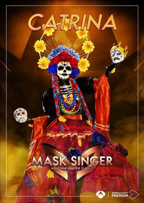 La máscara de Catrina en 'Mask singer: adivina quien canta'