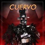 La máscara de Cuervo en 'Mask singer: adivina quien canta'