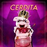 La máscara de Cerdita en 'Mask singer: adivina quien canta'
