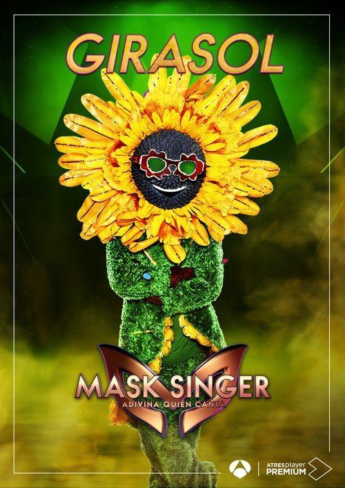 La máscara de Girasol en 'Mask singer: adivina quien canta'