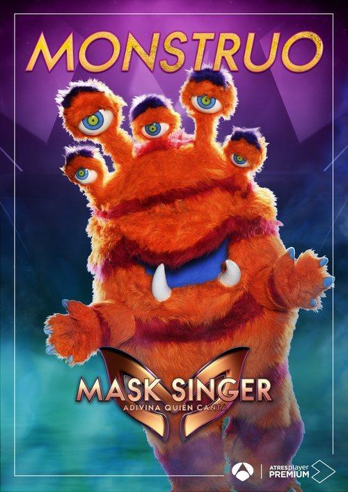 La máscara de Monstruo en 'Mask singer: adivina quien canta'