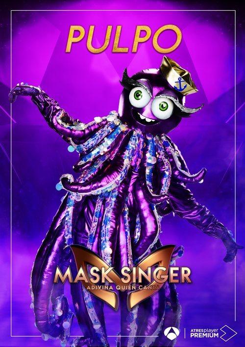 La máscara de Pulpo en 'Mask singer: adivina quien canta'