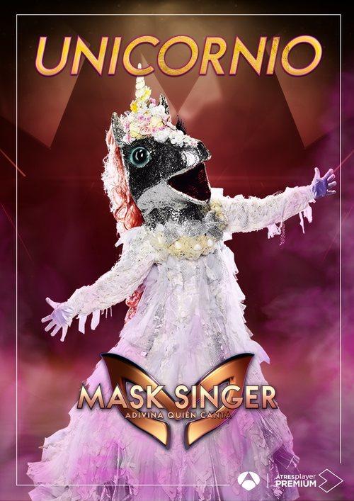 La máscara de Unicornio en 'Mask singer: adivina quien canta'