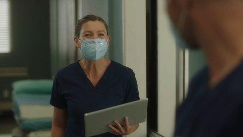 Meredith Grey en la temporada 17 de 'Anatomía de Grey'