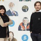 Laura Caballero y Alberto Caballero, creadores y productores de 'LQSA'