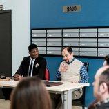 Ricardo Nkosi y Jordi Sánchez en 'La que se avecina'