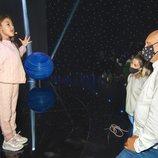Soleá grabando su actuación para Eurovisión Junior 2020