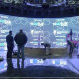 Vista frontal del escenario español de Eurovisión Junior 2020