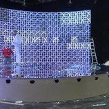 Vista lateral del escenario de TVE para Eurovisión Junior 2020