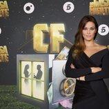 Lara Álvarez en la rueda de prensa de 'La casa fuerte 2'
