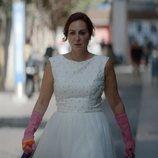 Ana Milán, vestida de novia, en el 1x01 de 'ByAnaMilán'