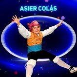 Asier Colás, semifinalista de la primera gala de 'Idol Kids'