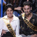 Chabelita Pantoja y Asraf Beno, concursantes de 'La casa fuerte 2'