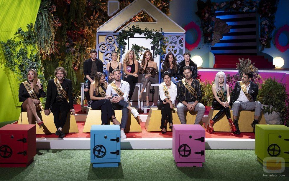 Los concursantes de 'La casa fuerte 2'