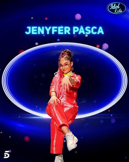 Jenyfer Pasca, semifinalista de la segunda gala de 'Idol Kids'
