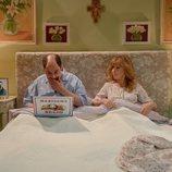 Antonio Recio y Berta en la cama en el 12x02 de 'La que se avecina'