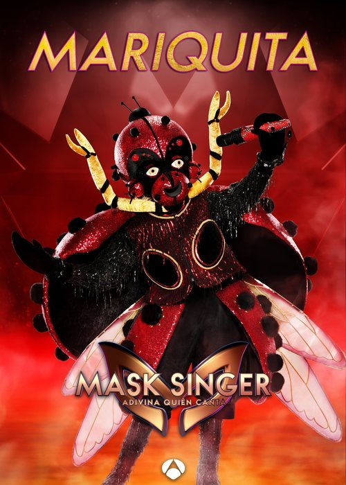 La máscara de Mariquita en 'Mask singer: adivina quien canta'