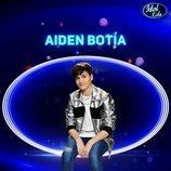 Aiden Botía, semifinalista de la tercera gala de 'Idol Kids'