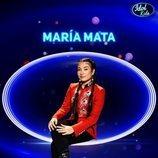 María Mata, semifinalista de la tercera gala de 'Idol Kids'