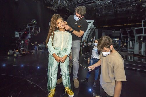 Soleá se prepara para grabar su actuación de Eurovisión Junior 2020