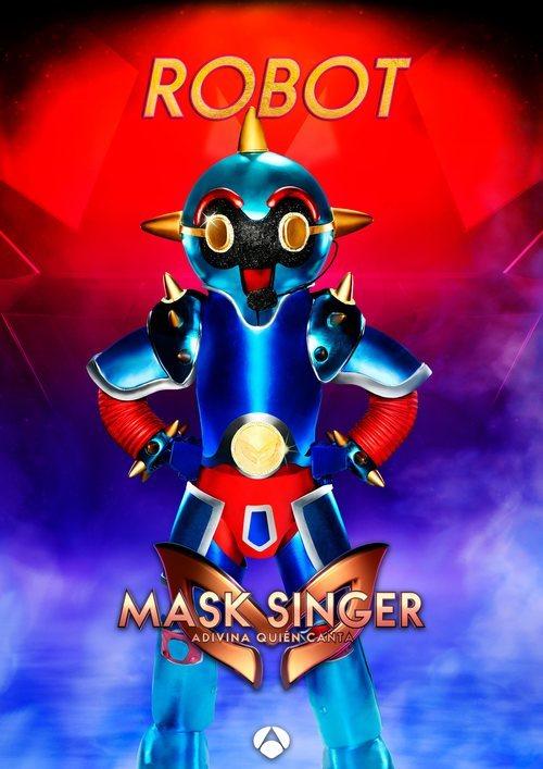 La máscara de Robot en 'Mask singer: adivina quien canta'