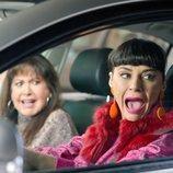 Menchu y Yoli en el coche en el 12x03 de 'La que se avecina'