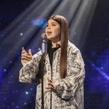 Arina Pehtereva, representante de Bielorrusia, en la Gran Final de Eurovisión Junior 2020