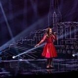 Chanel Monseigneur, representante de Malta, en la Gran Final de Eurovisión Junior 2020